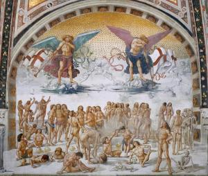 Orvieto: Cathedral, San  Brizio Chapel, 1499-1504
